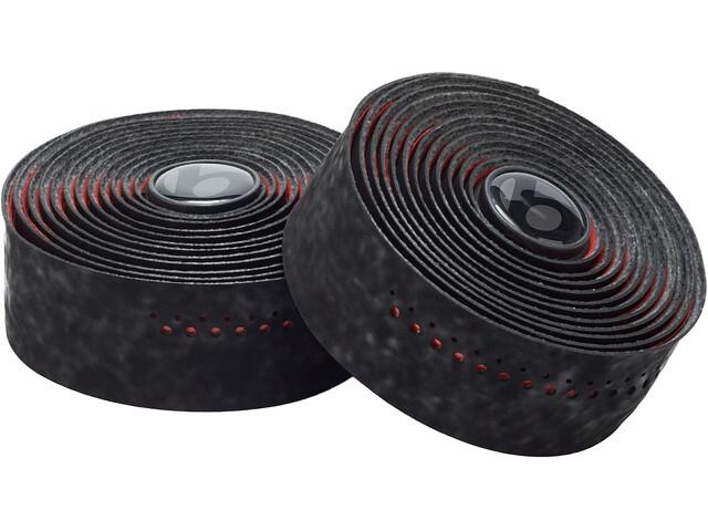 Bontrager Velvetack Lenkerband black/viper red